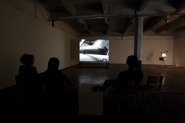 Installation view, +44 141, SWG3, Glasgow